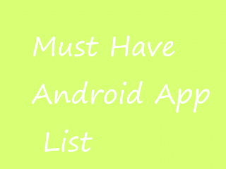 List of good apps for android