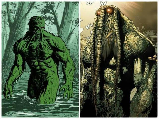 monstro do pantano homem coisa