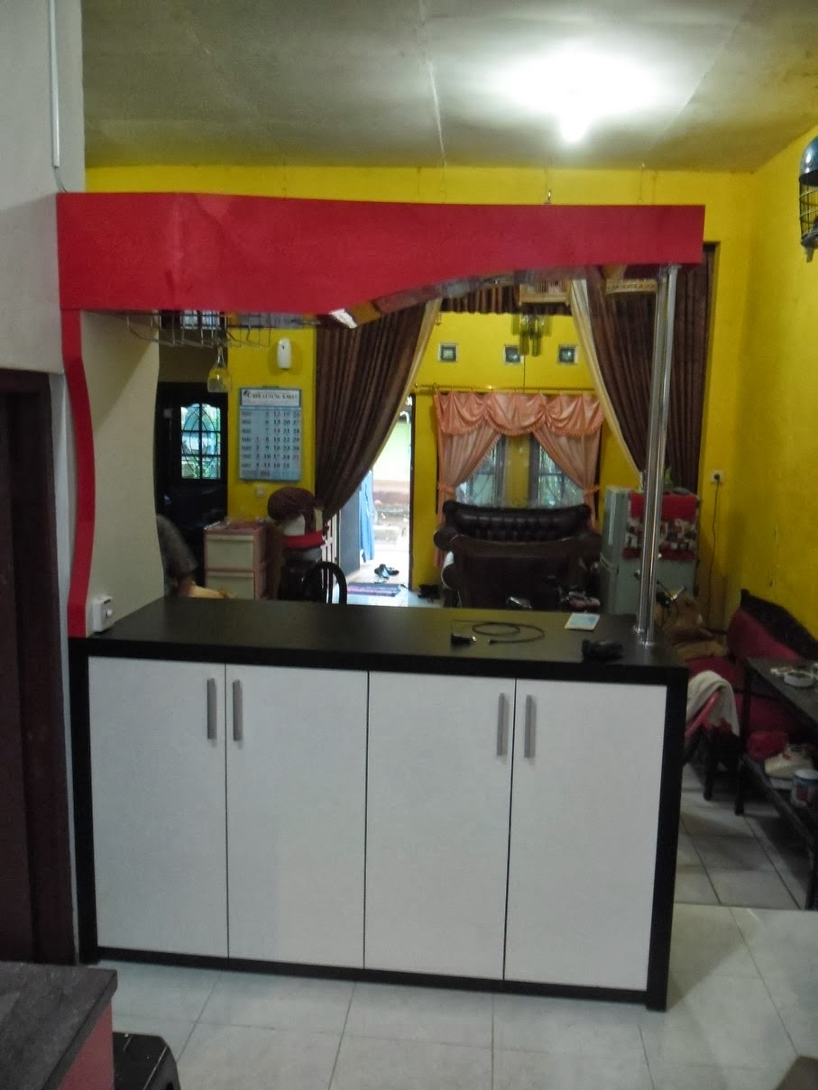 Kitchen Set Lurus - Kitchen Set Semarang - Custom Furniture Semarang