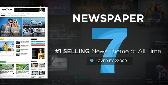 Newspaper v7.4 by tagDiv Download - Premium Responsive WordPress News Theme