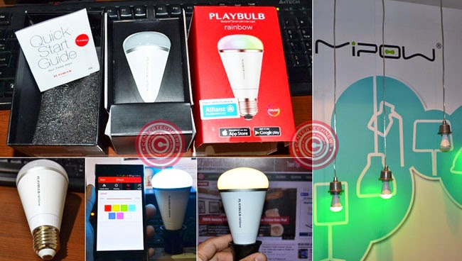 MiPOW PlayBulb Rainbow Review