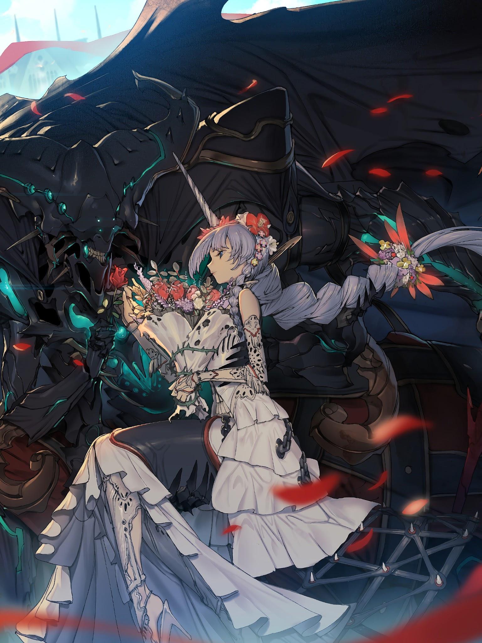 Anime Fantasy Girl 4k 3840x2160 Wallpaper 51