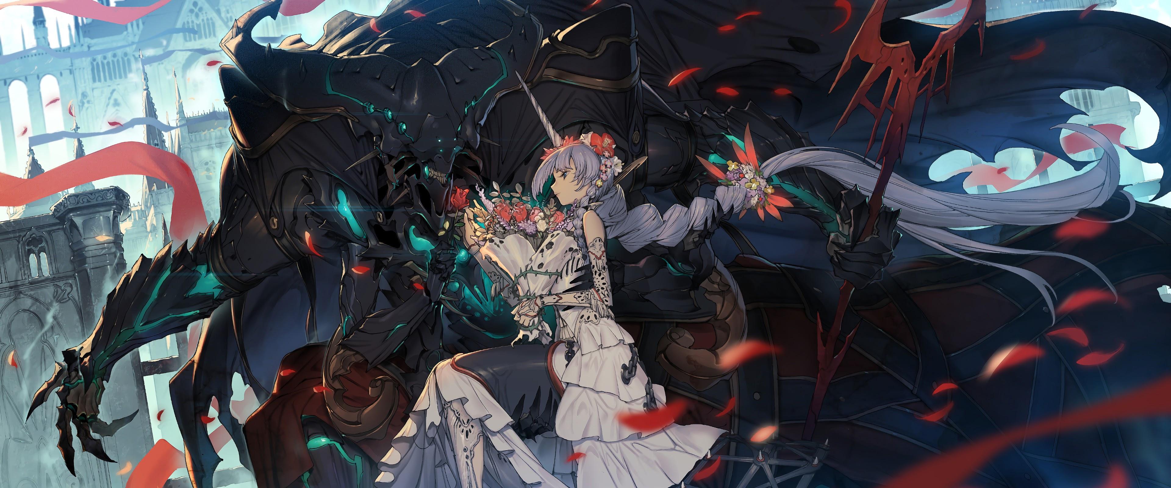 Anime Fantasy Girl 4k Wallpaper 51