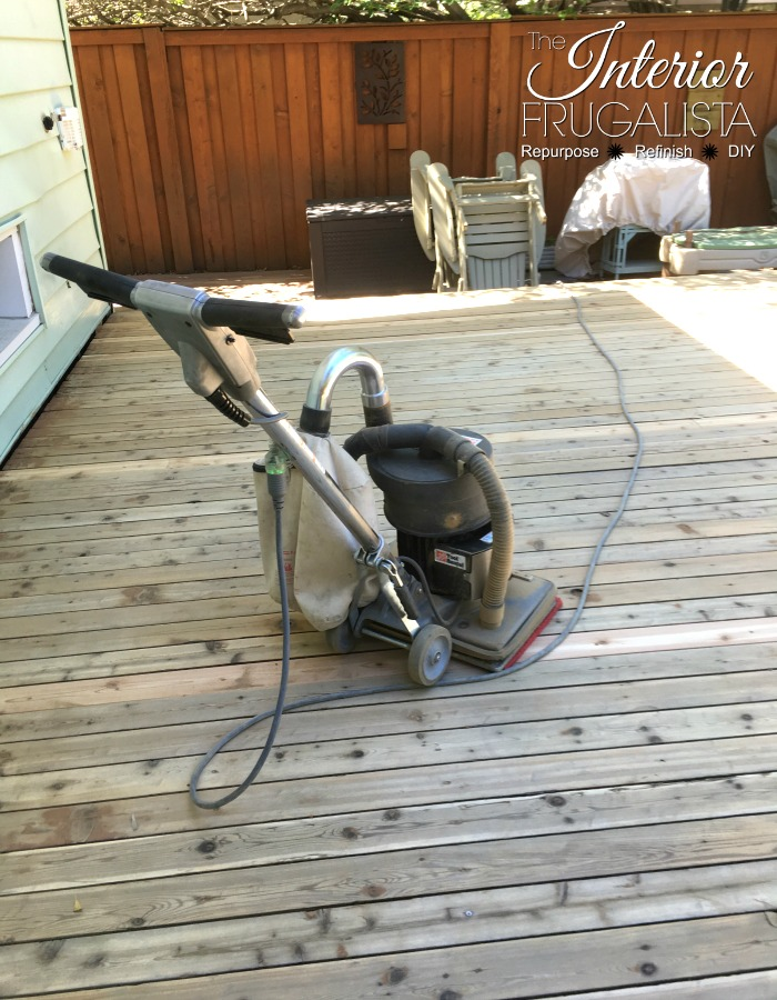 Budget-Friendly Deck Restore Sanding Wood Deck Boards