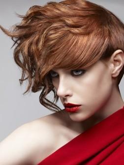 fiery hair color ideas 2012