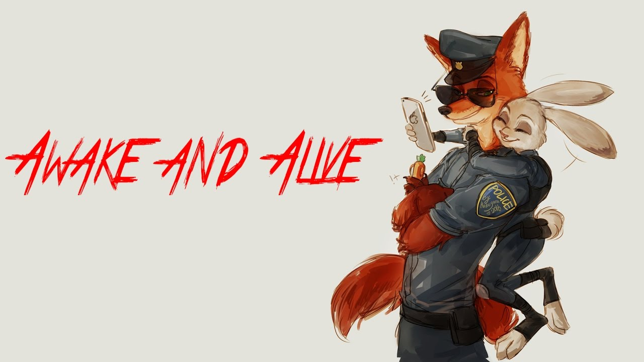 [ZMV] Zootopia Nick x Judy Awake and Alive (by Beikal)