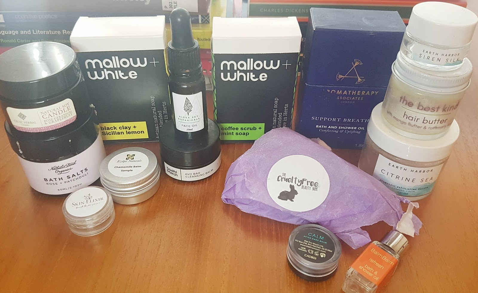 Natural Beauty Empties - March roundup