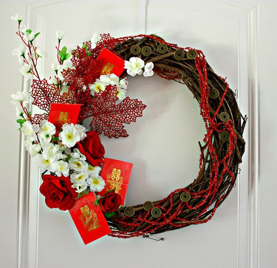 New Year Decorations Home Arts Crafts Chinese. Image Credit To Pinterest & 98+ Chinese New Year Home Decorations - Chinese New Year Decoration ...
