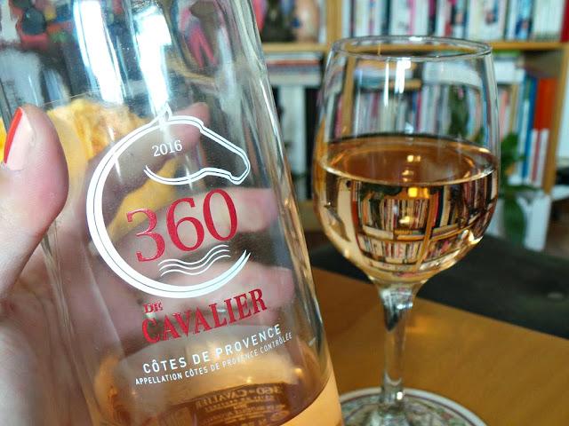 Vin rosé wine winelover apéro château cavalier 360 de cavalier rosé de provence