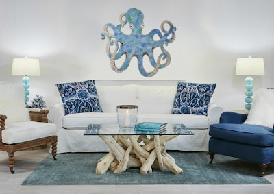 coastal octopus art