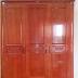 Tủ quần áo ba buồng gỗ Xoan - Đồ gỗ mỹ nghệ Hải Phòng