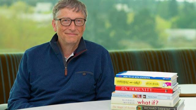 Buku-buku yang Direkomendasikan Bill Gates dan Mark Zuckerberg