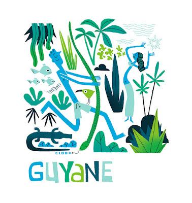 Clod illustration Guyane