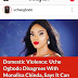 Actress Uche Ogbodo Disagrees With Monalisa Coker's Stance On Domestic Violence