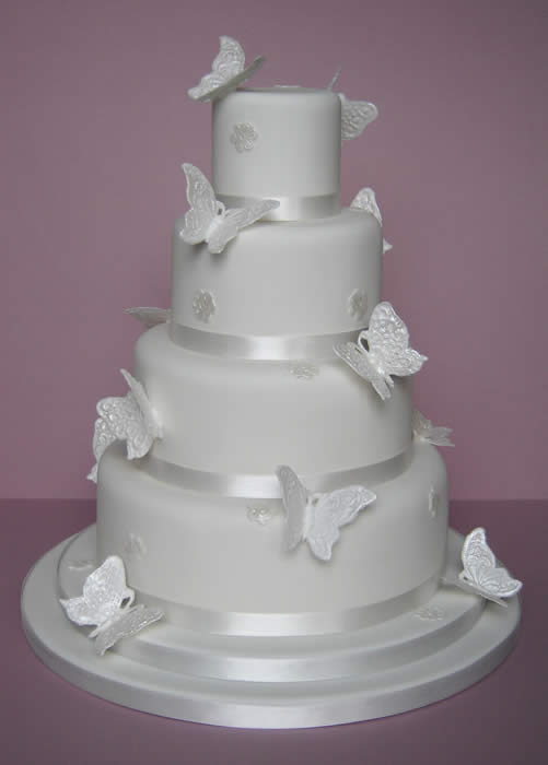 Butterfly Wedding Cake Decorations Pictures   Wedding Cake Decorations Butterfly Wedding Cake Decorations Pictures