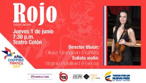ROJO: ORQUESTA SINFONICA NACIONAL DE COLOMBIA