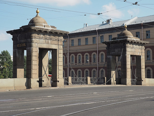 Мост в Санкт-Петербурге (Bridge in St. Petersburg)