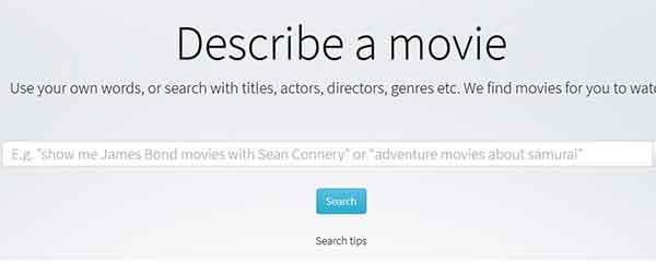 Mencari film dari HP