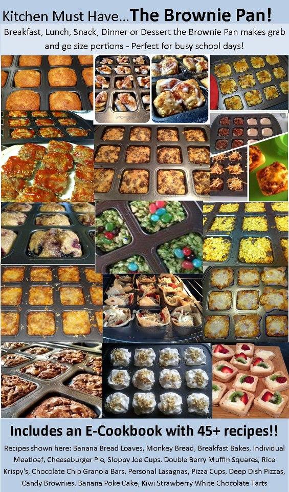 Cookingwithkcnancy Great Brownie Pan Ideas