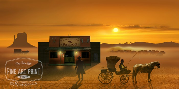 http://www.fineartprint.de/bilder/der-wild-west-saloon-,11334871.html