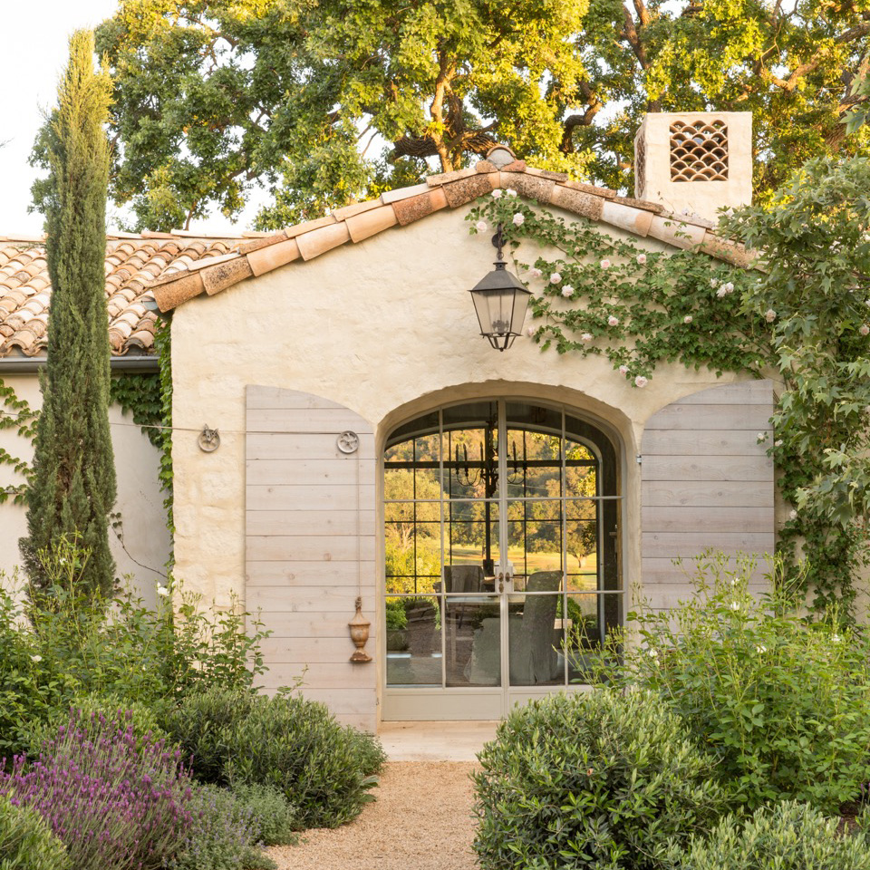 Great Symmetry With Architectural Designs Mediterranean: Interior & Garden Design: Patina Farm Book