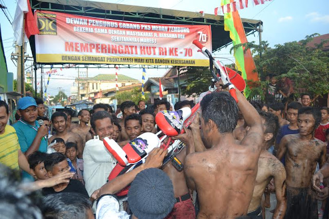 HUT RI ke-70, PKS Kota Medan Gelar Ragam Lomba Tradisi Rakyat