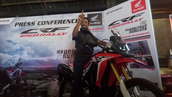 Harga Honda CRF250 Rally di Bali
