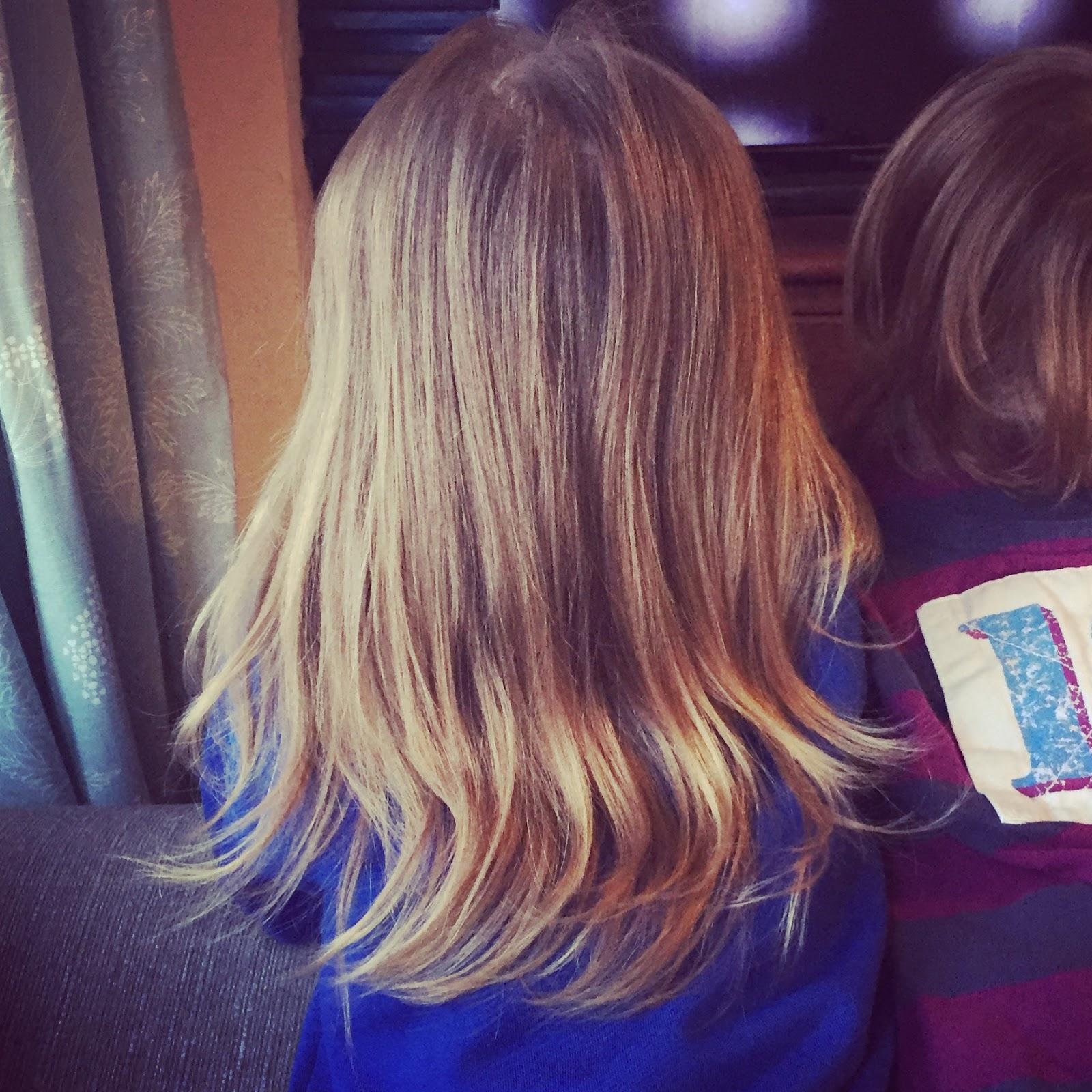 Hugs\' hair cut for The Little Princess Trust | Howard\'s House