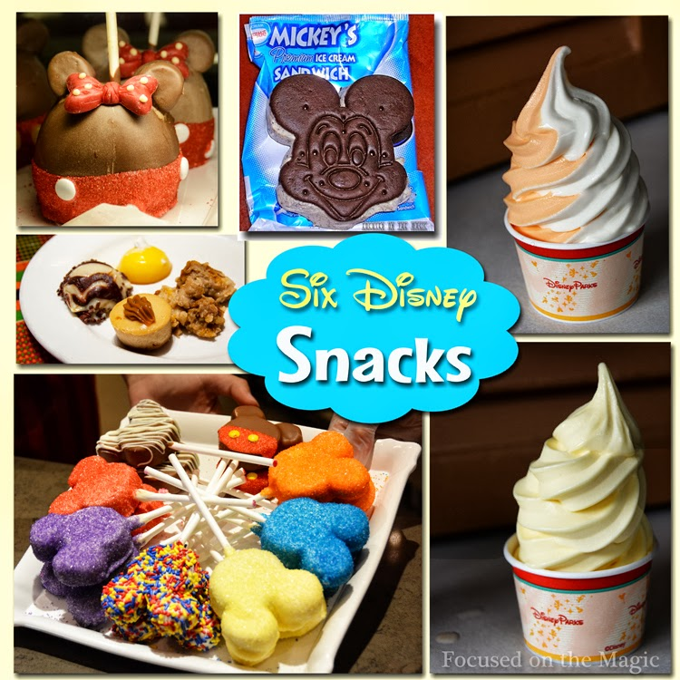 Six Super Disney Snacks