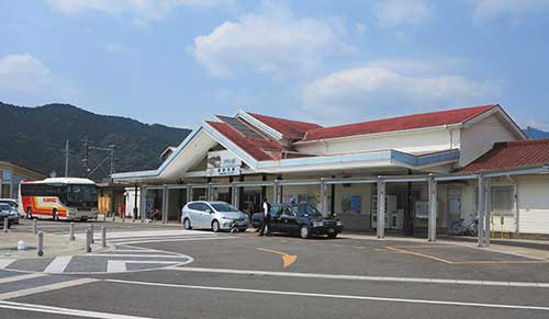 JR Kumano-shi Station, Mie Prefecture.