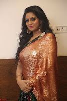 Udaya Bhanu lookssizzling in a Saree Choli at Gautam Nanda music launchi ~ Exclusive Celebrities Galleries 135.JPG