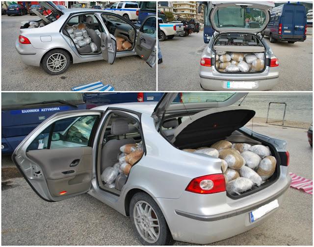 Συνελήφθη μία ακόμα γυναίκα στην Ηγουμενίτσα, για διακίνηση και μεταφορά 118 κιλών χασίς