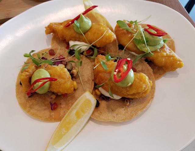 Lorna, Ferntree Gully, fish taco