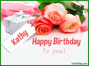 Happy Birthday Kathy