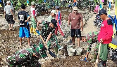 Gas Pol ! Pembangunan Jalan TMMD Rempoah