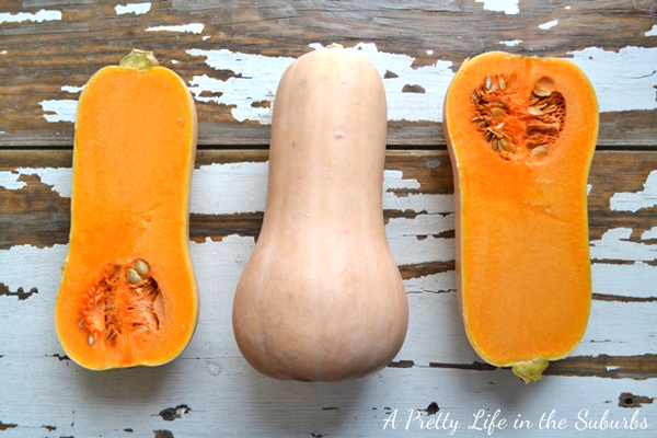 How to roast squash