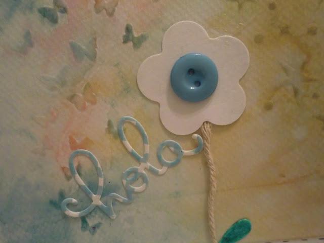 Otro primer plano del sentimiento y la flor