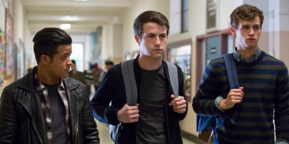 Clay, Justin y Tony, en la segunda temporada de 13 Reasons Why