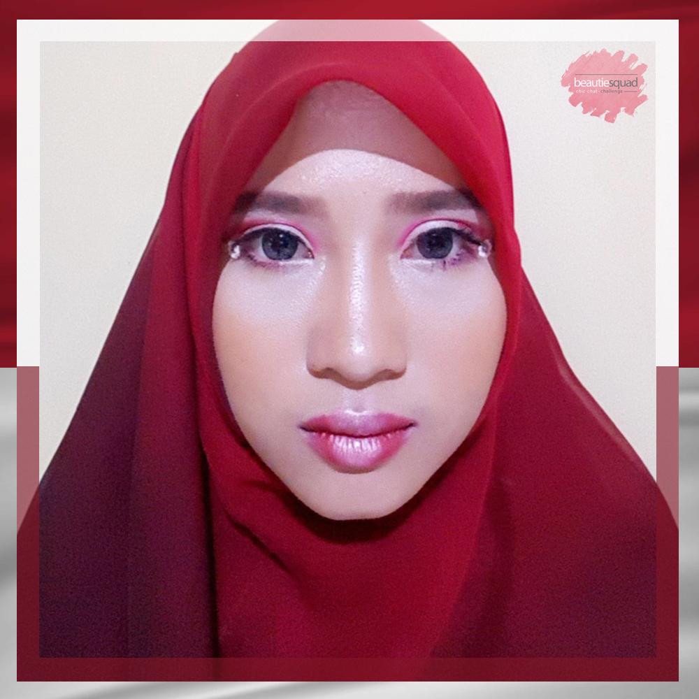 Ryana Ambarwati Independence Day Make Up Look Collaboration With Beautiesquad
