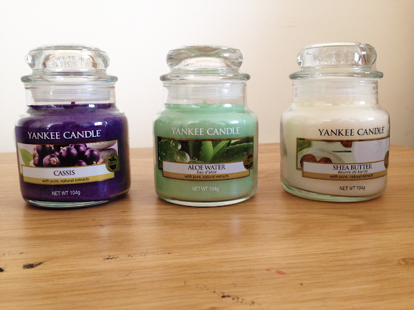 Yankee Candle 'Pure Essence' Spring Collection.