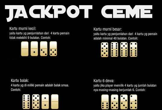 Macam-macam Jenis Kartu Jackpot Ceme Pada Agen Ceme Terpercaya