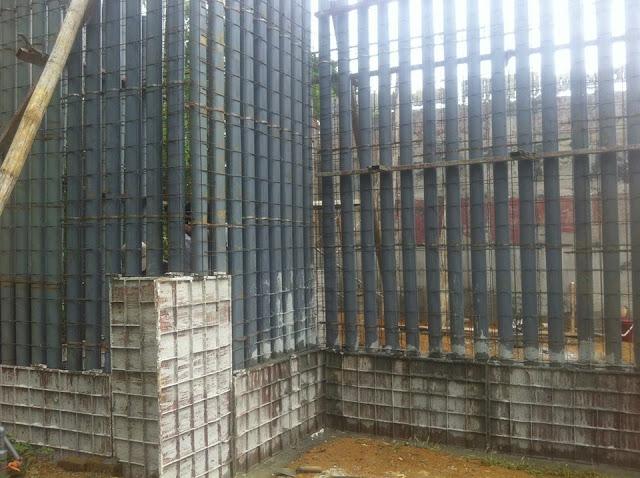 Coffa óng tạo rỗng tường Bê tông