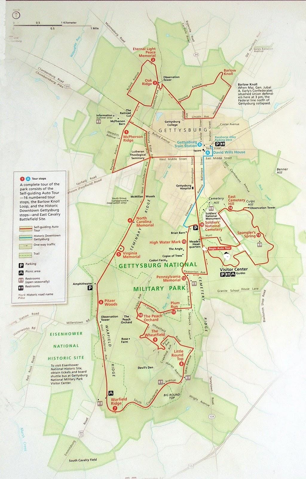 Focusing On Travel Gettysburg National Military Park U