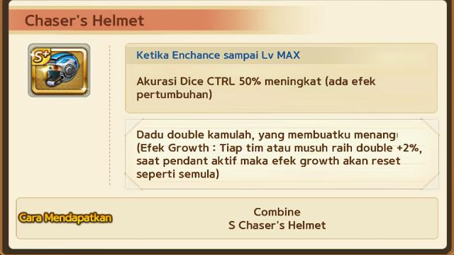Trik Mendapatkan Pendant Chaser's Helmet 8 September 2016, Cara Mendapatkan Pendant Chaser's Helmet Get Rich Work.