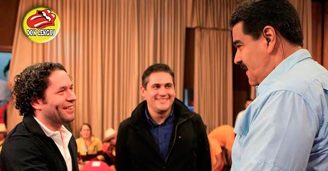 Gustavo Dudamel se queja por situación de Venezuela (con su batuta sucia de chavismo)