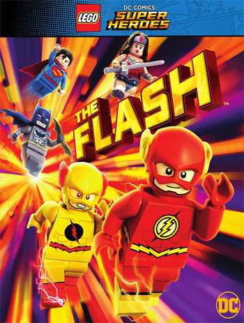 Lego DC Comics Super Heroes The Flash 2018 ORG Endlish