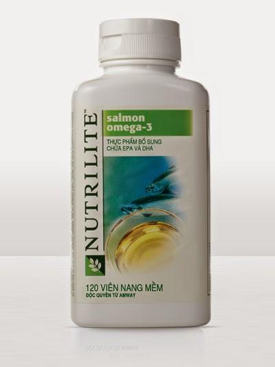Nutrilite Salmon Omega - 3 của Amway viên dầu cá omega 3 giá rẻ