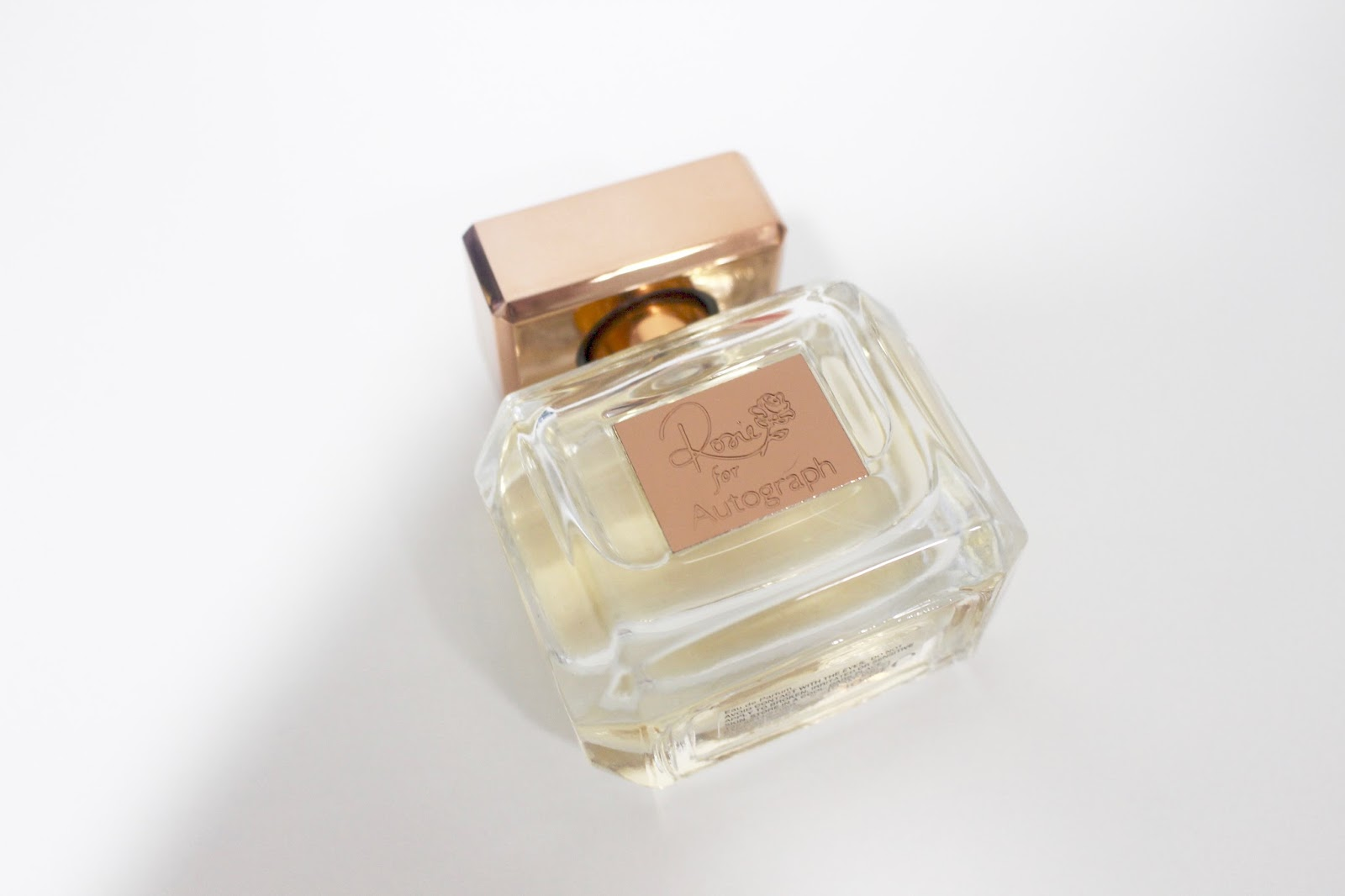 Rosie for Autograph – Summer Rose & the original eau de parfum
