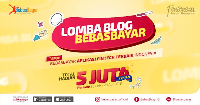 Lomba Bebasbayar Aplikasi Fintech Terbaik Indonesia