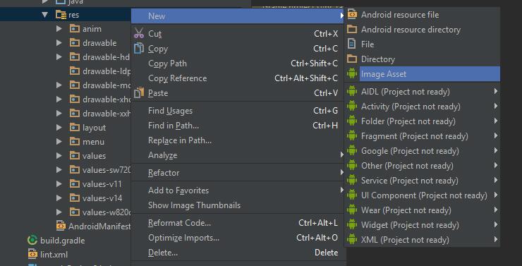 Android Dev Tips] เปลี่ยนไอคอนแอพฯแบบง่ายๆบน Android Studio